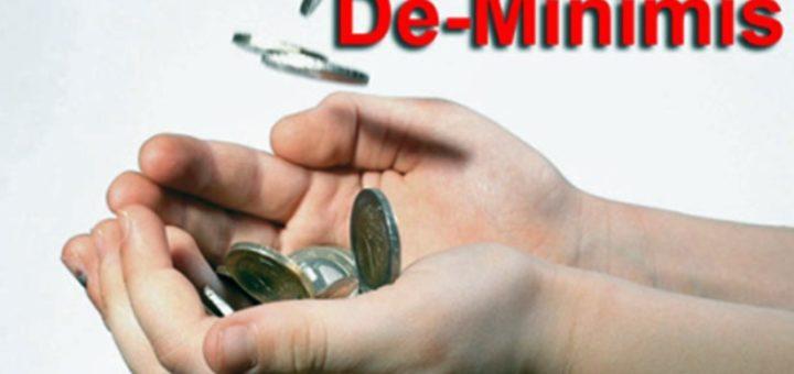 Pomoc Publiczna A De Minimis